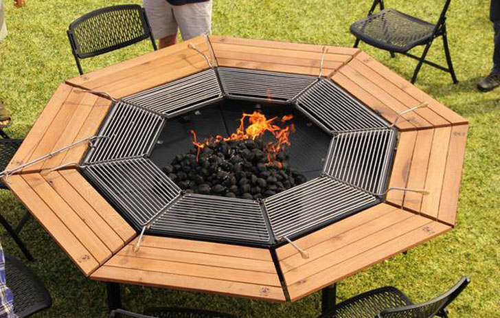 Jag Grill Fire Pit Tables
