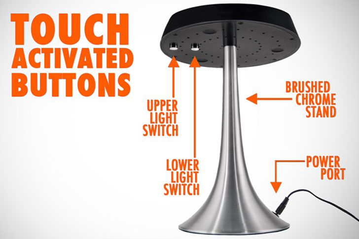 Levitron Levitating Table Lamp