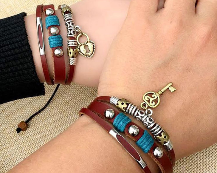 Matching His & Hers Couples Bracelets