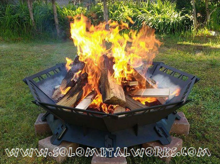 Module Octagon Steel Fire Pit