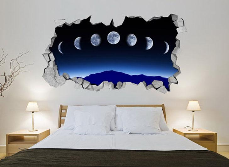 Moon Phase Wall Art