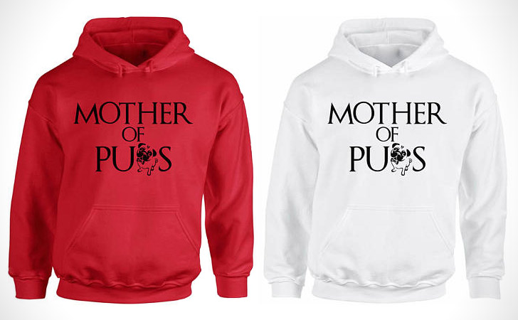 Mother Of Pugs Hoodies