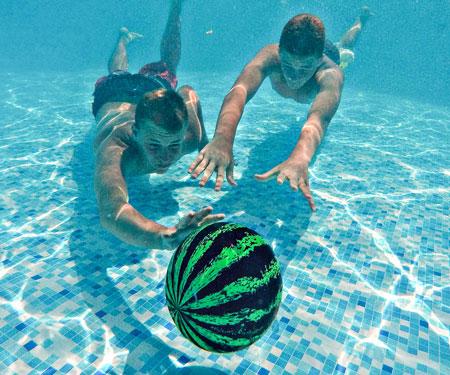Neutrally Buoyant Watermelon Water Ball