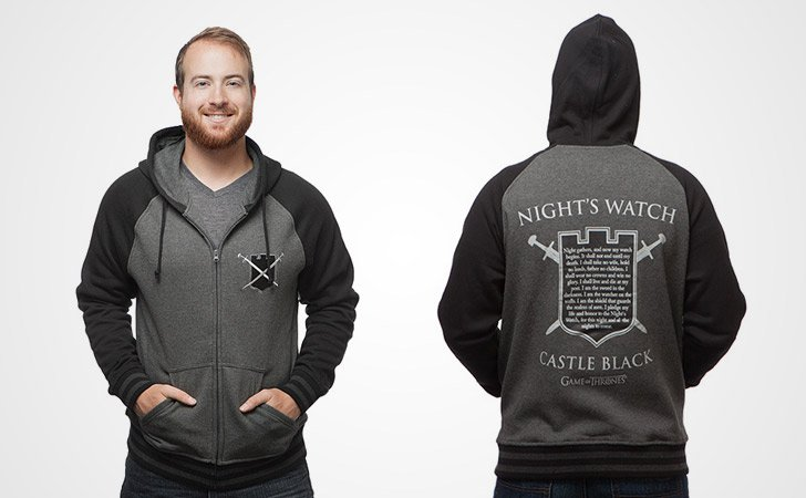 Night's Watch Castle Black Hoodie - Game of Thrones hoodies
