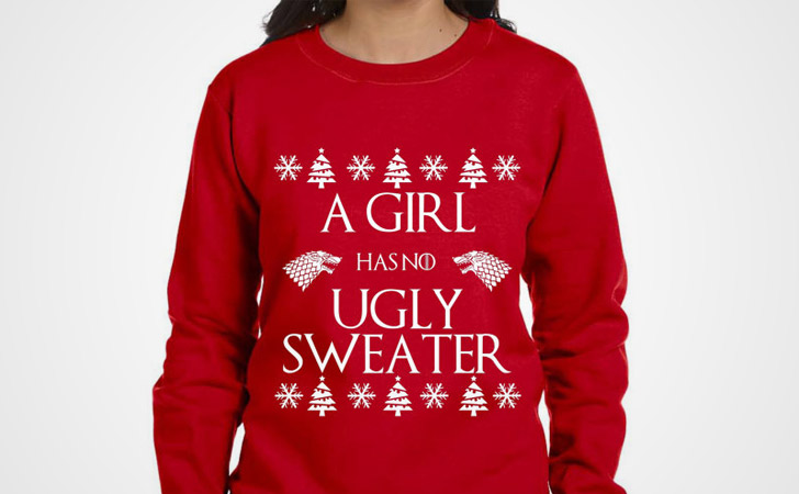 No Ugly Sweater Christmas Sweatshirt