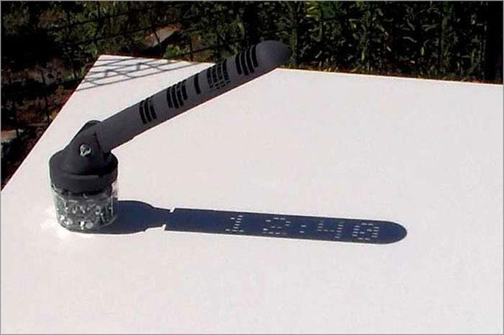 Numerical Display Sundial