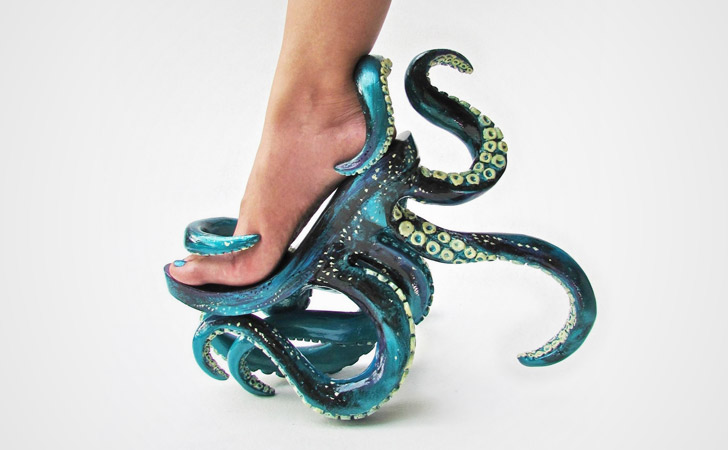 Octopus Shoes - weird shoes crazy shoes