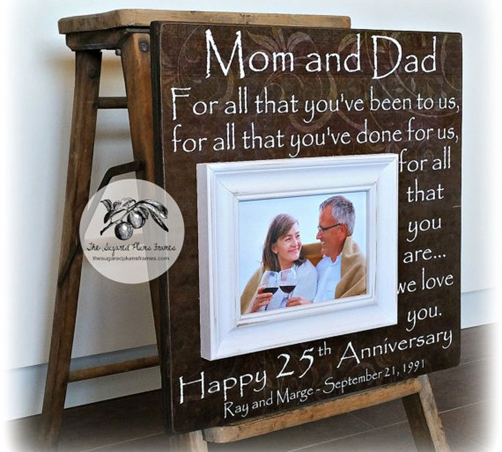 Personalised Mom and dad Wall Plaques
