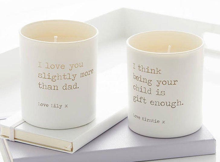 Personalised Scented Candle Set