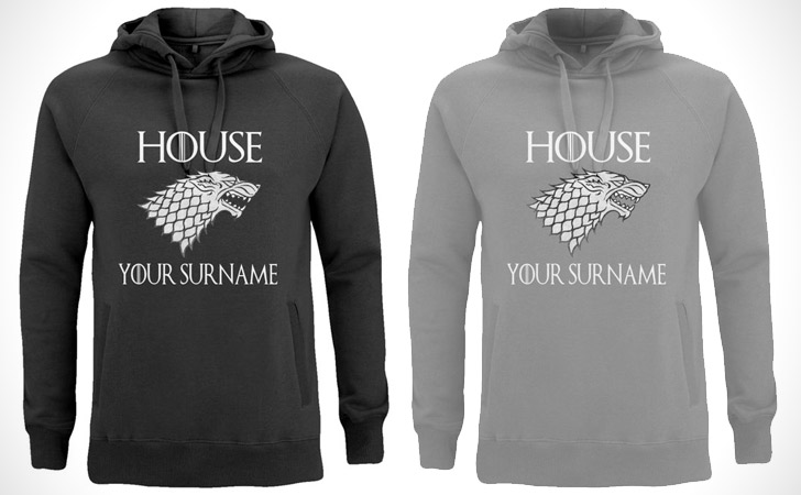 Personalized Game of Thrones Hoodies