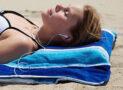 Pillowed Beach Towel