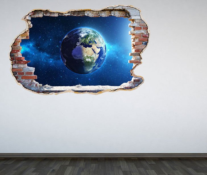 Planet Earth Wall Decals