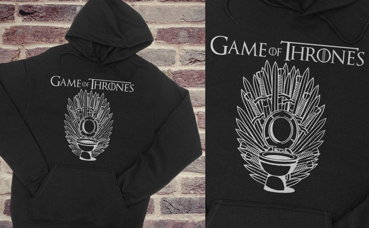 Porcelain Throne Hoodie - Game of Thrones hoodies