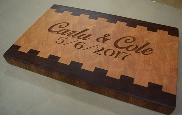 Quality Personally Engraved Cutting Boards