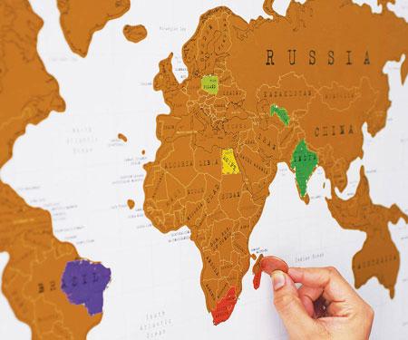 Scratch Off Travel Map