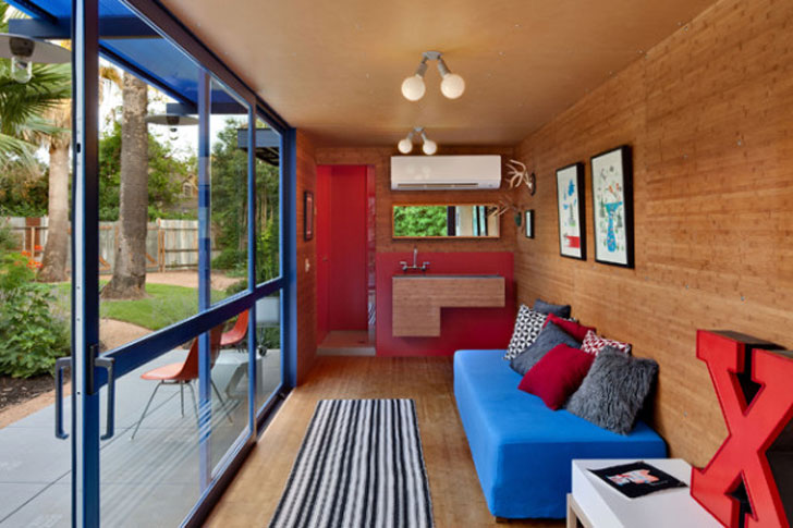 Shipping Container Guest House Unit