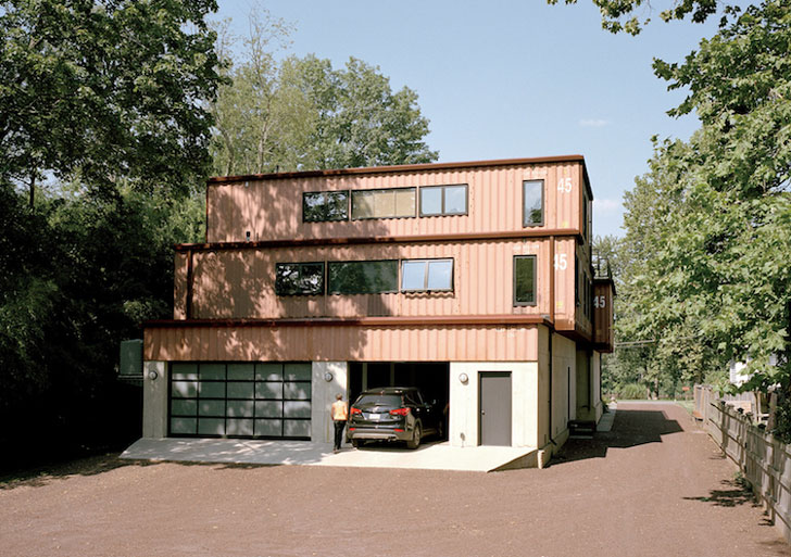 Simple Modern Shipping Container Homes