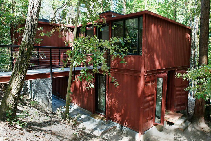 Six Oaks California Shipping Container Home