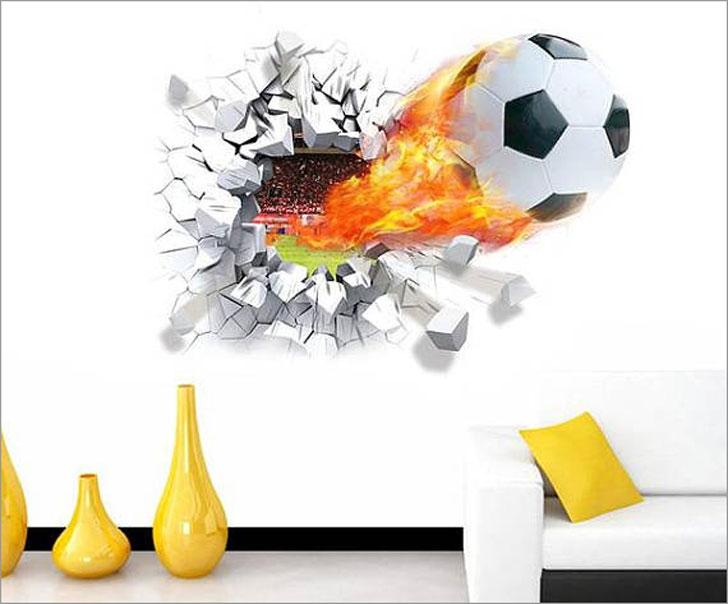 Soccer Ball Wall Decal