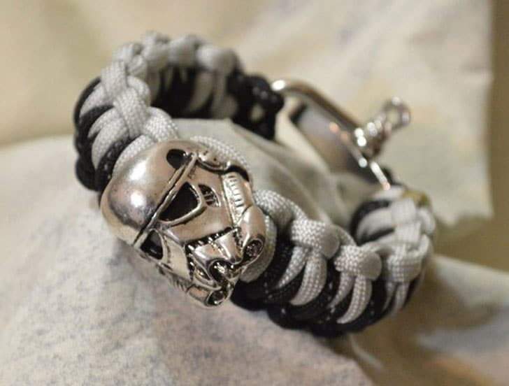 Storm Trooper Paracord Bracelet
