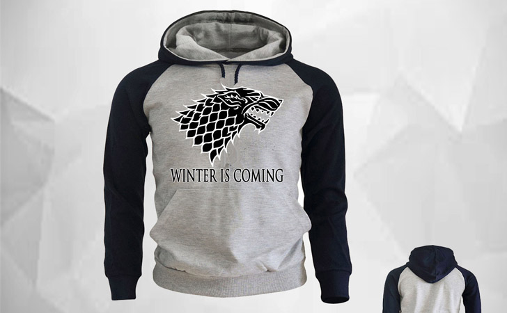 Stylish House Stark Winter Is Coming Hoodie