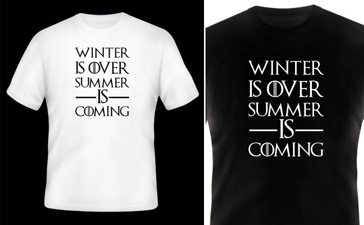 fef309bef 50+ Best Game of Thrones T-Shirts For Men & Women