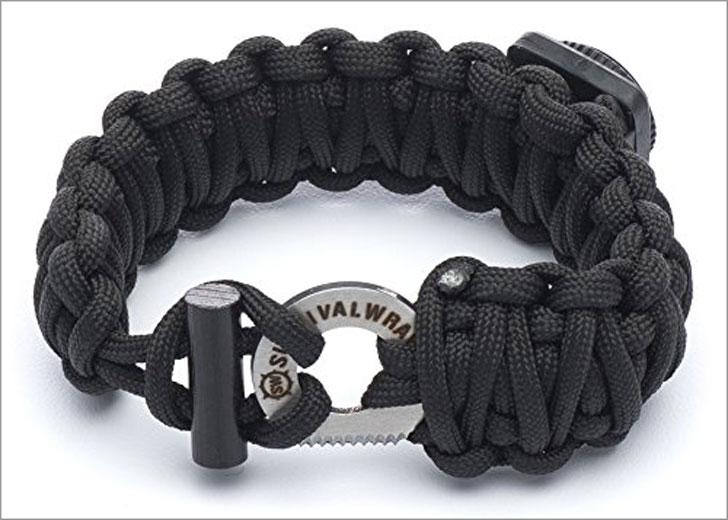 Survival Wraps Emergency Survival Bracelet