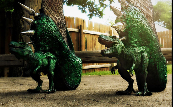 """T-Rex """"Jurassic Pumps"""""""