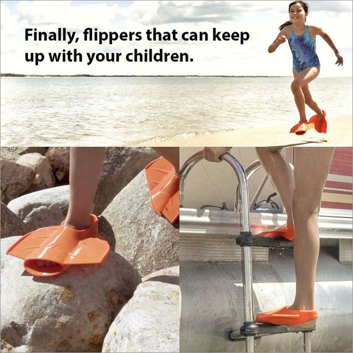 Tailfins Non-Trip Flippers