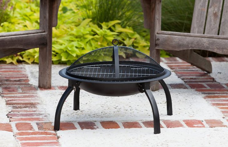 The Brookdale Steel Wood Burning Fire Pit