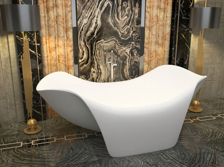 The Cielo Freestanding Soaking Bathtub - cool bathtubs