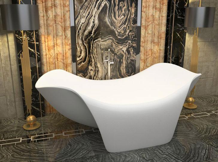 The Cielo Freestanding Soaking Bathtub - cool bathtubs