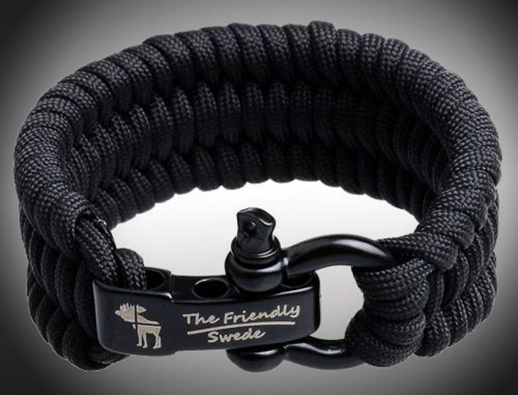 Friendly Swede Trilobite Paracord Bracelet