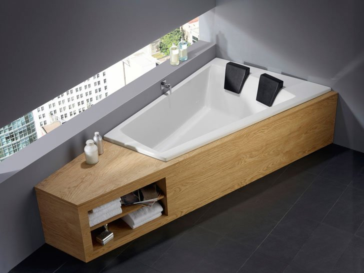 30 incredibly cool bathtubs for a fancy unique bathroom awesome stuff 365. Black Bedroom Furniture Sets. Home Design Ideas