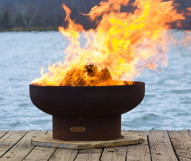 The Lowboy Fire Pit - 40 Incredibly Cool Fire Pits You Can Buy For Your Home!