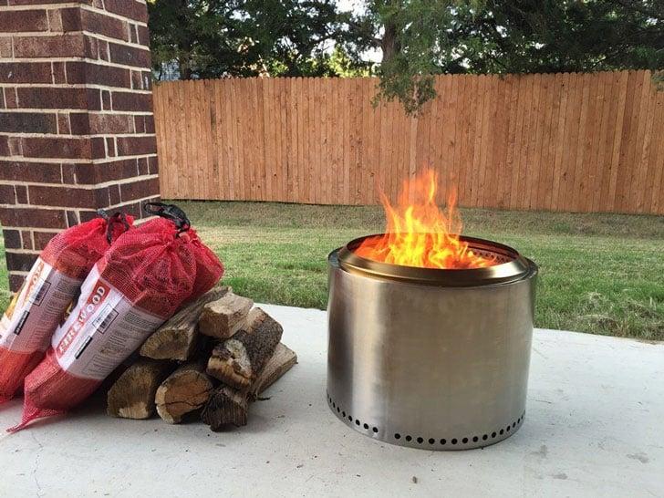 The Solo Stove Bonfire Steel Fire Pit