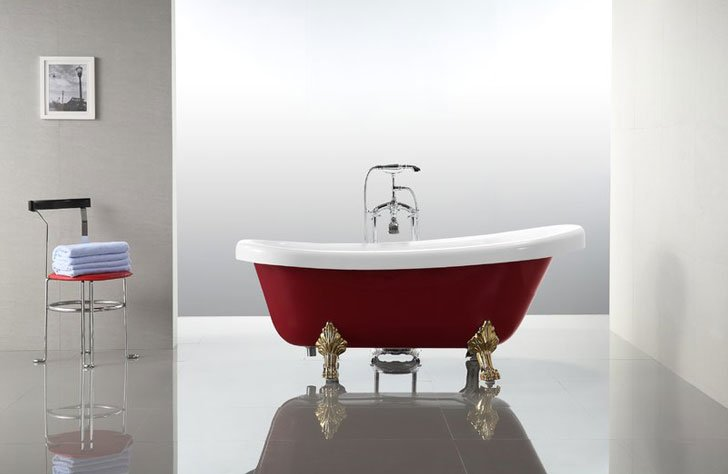 Vanity Art Clawfoot Bathtub