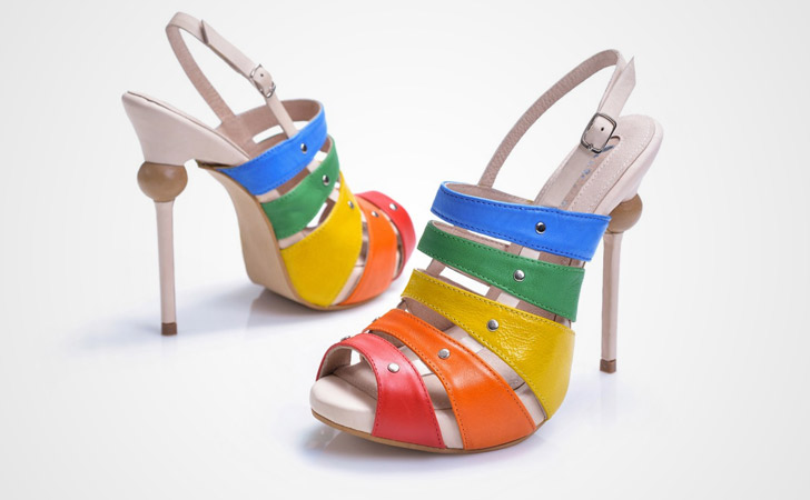 Xylophone Stickletto - weird shoes
