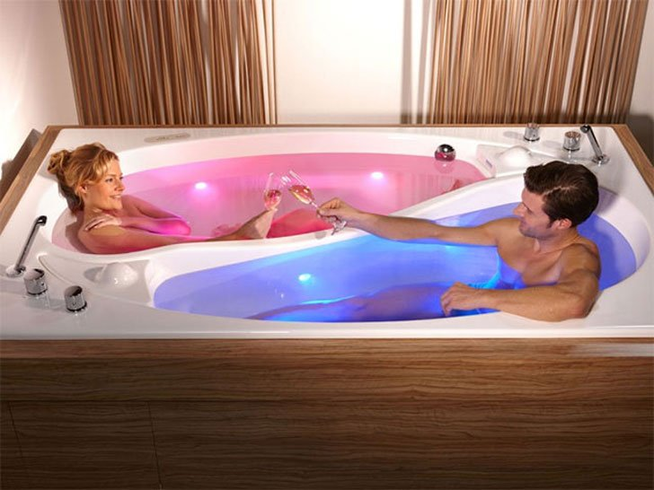 Yin Yang Couples Bath - cool bathtubs