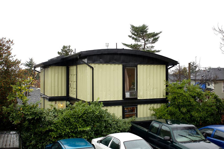 Zigloo Domestique Shipping Container Home