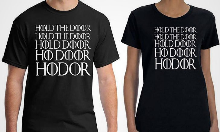 game of thrones t-shirts