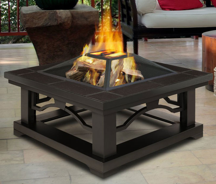 restone Wood Burning Fire Pit