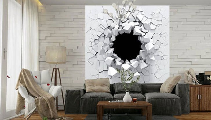 """The """"Shards of The White"""" Wall Decal"""
