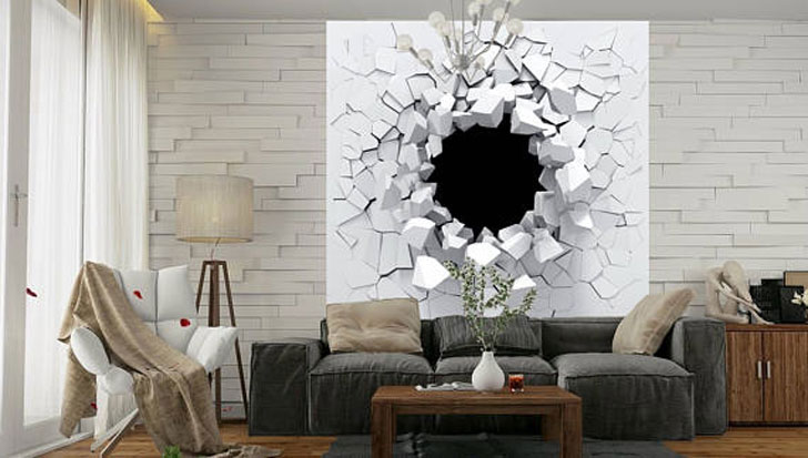 "The ""Shards of The White"" Wall Decal"
