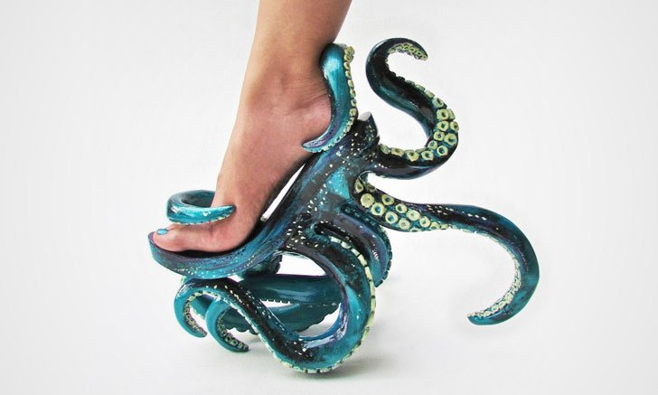 50 Crazy Weird Shoes That Are Bizarre But Also Kinda Cool