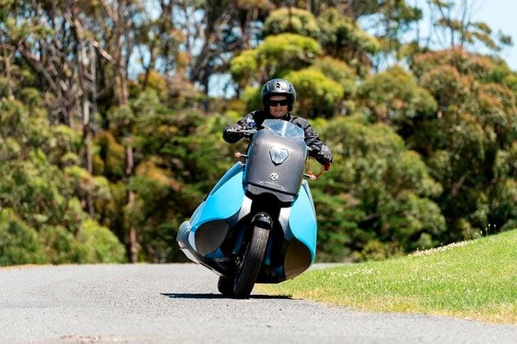 Amphibious Motorcycle Jet Ski Hybrid