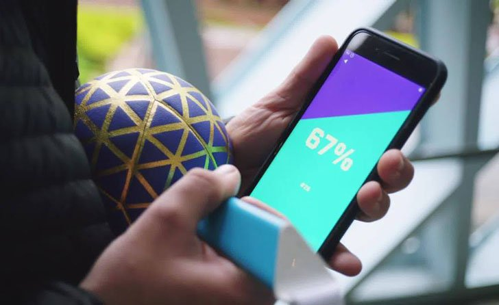 App Connected Smart Ball