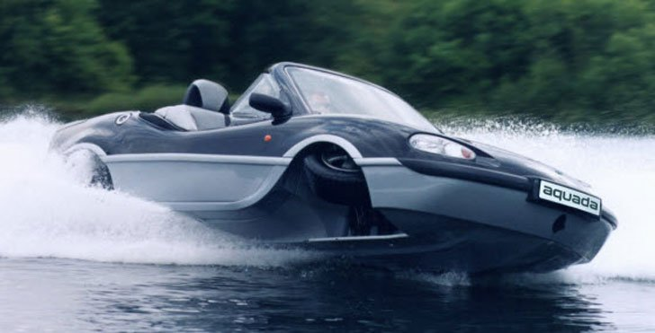 Aquada High-Speed Amphibian Vehicle - Amphibious Vehicles