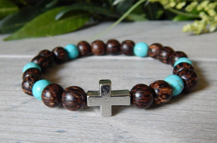 Beaded Christian Bracelet