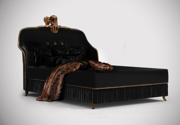 Black Koket Forbidden Kiss Bed
